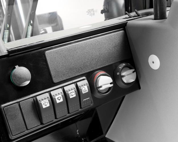 Панель управления вилочного погрузчика Mitsubishi Grendia