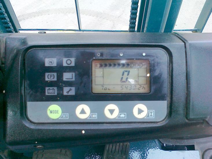Панель управления вилочного погрузчика Komatsu FB15-12.Панель приборов Komatsu FB15-12