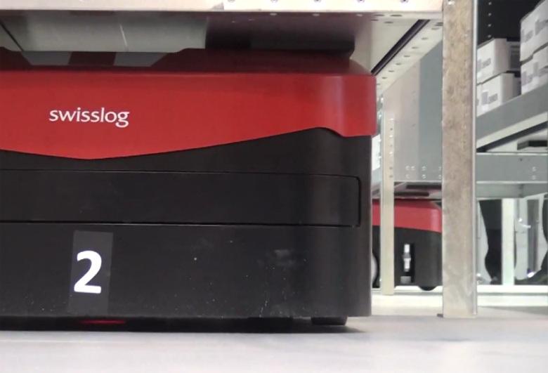 Платформа для транспортировки стеллажей от SwissLog