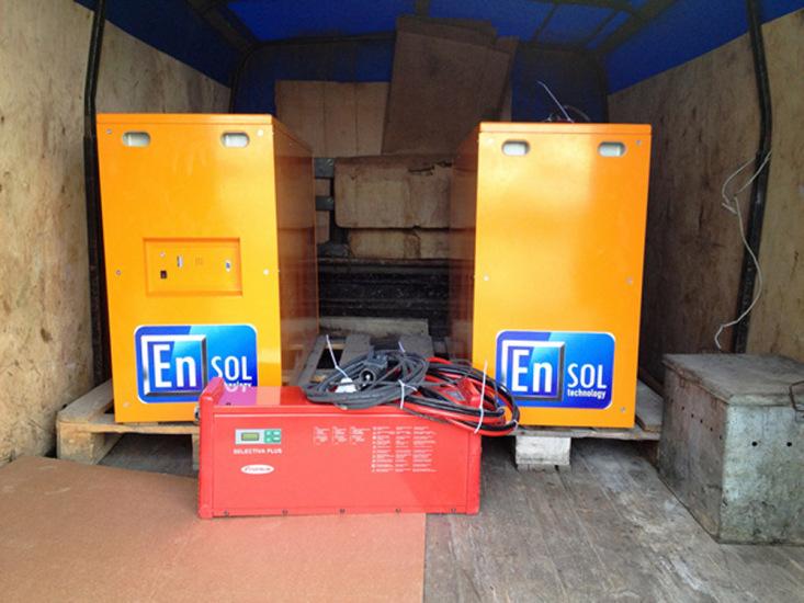 Аккумуляторные батареи EnSol