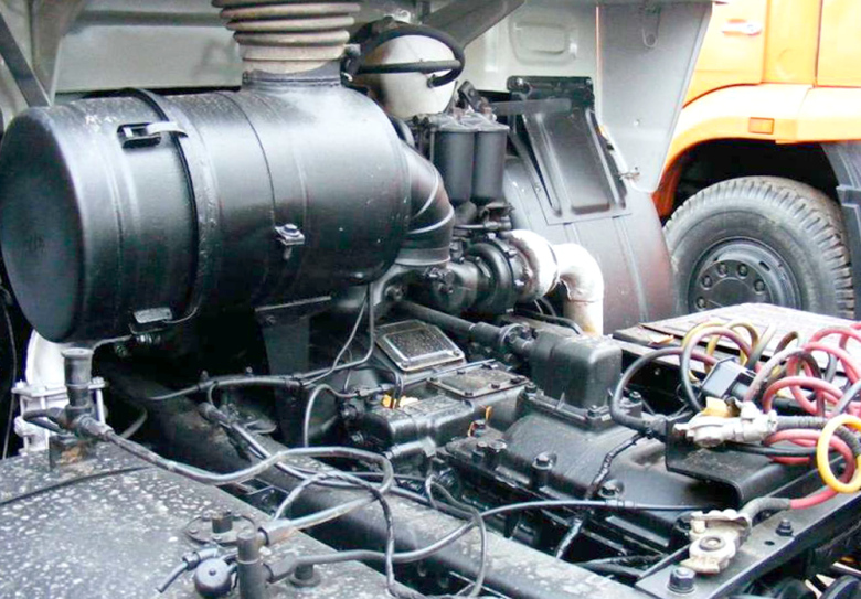 Двигатель Камаза