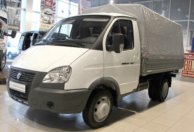 Грузовой автомобиль ГАЗ-3302. Фото